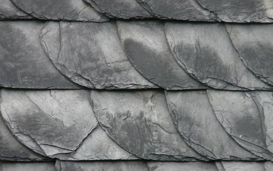 Soapstone slates stacked