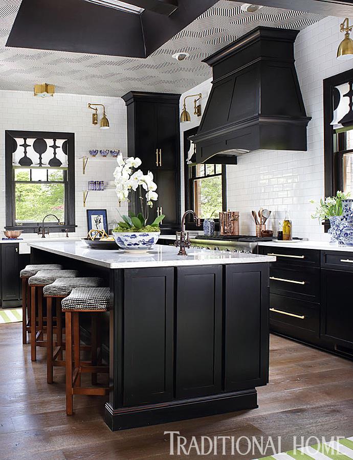 Modern marble top kitchen