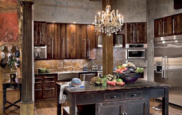 Celebrity Gerard Butler Kitchen