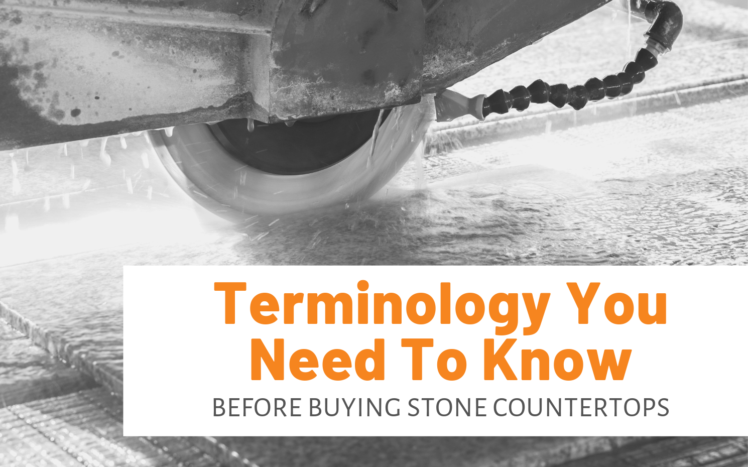 """Featured image for """"Terminology You Need To Know Before Buying Stone Countertops"""" blog post"""