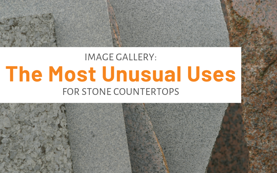 Image Gallery: Some Of The Most Unusual Uses For Stone Countertops