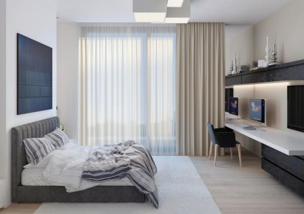 Modern teens' room