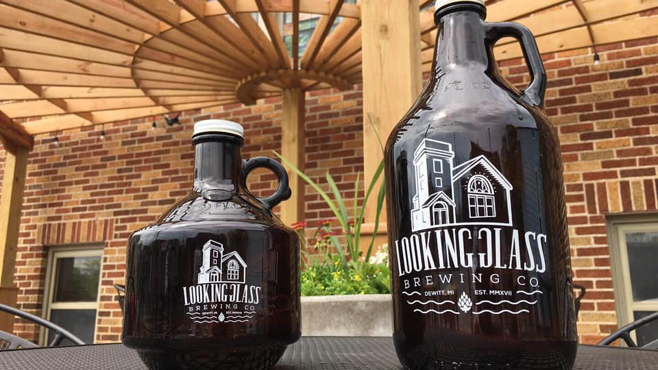 Looking Glass Brewing Co. bottles